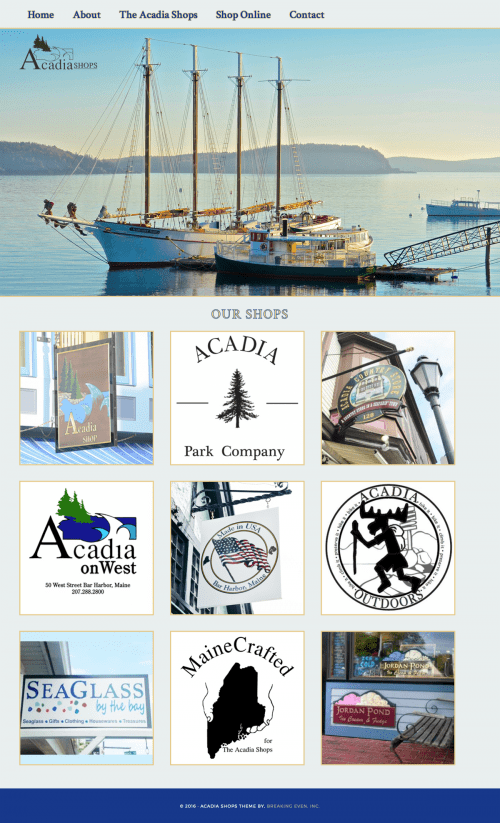The Acadia Shops